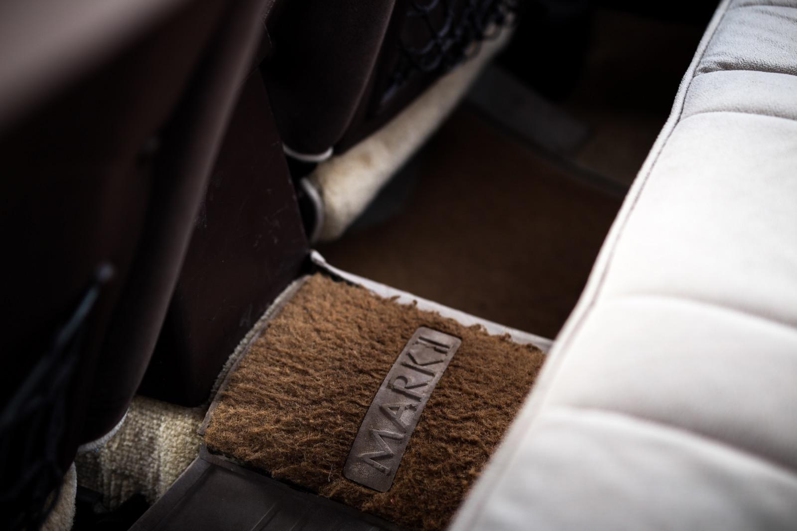 Toyota Mark2 GX61 оригинальные ковры