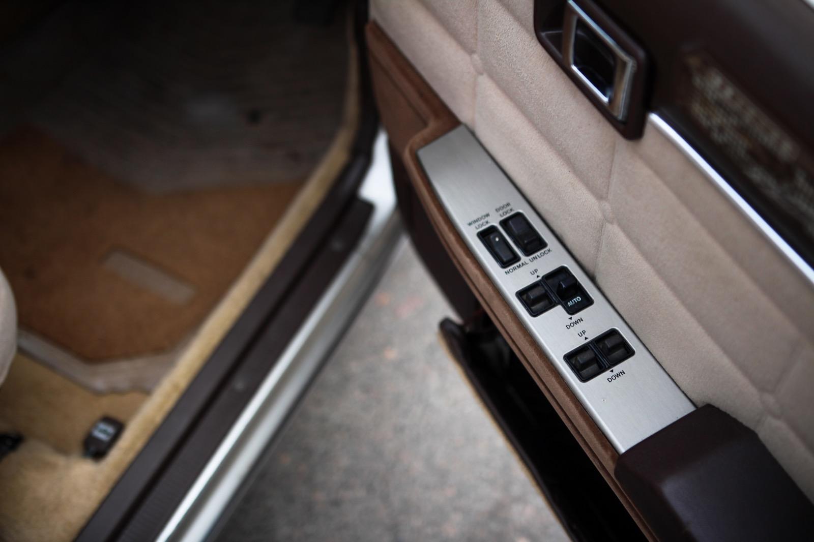 Toyota Mark2 GX61 салон